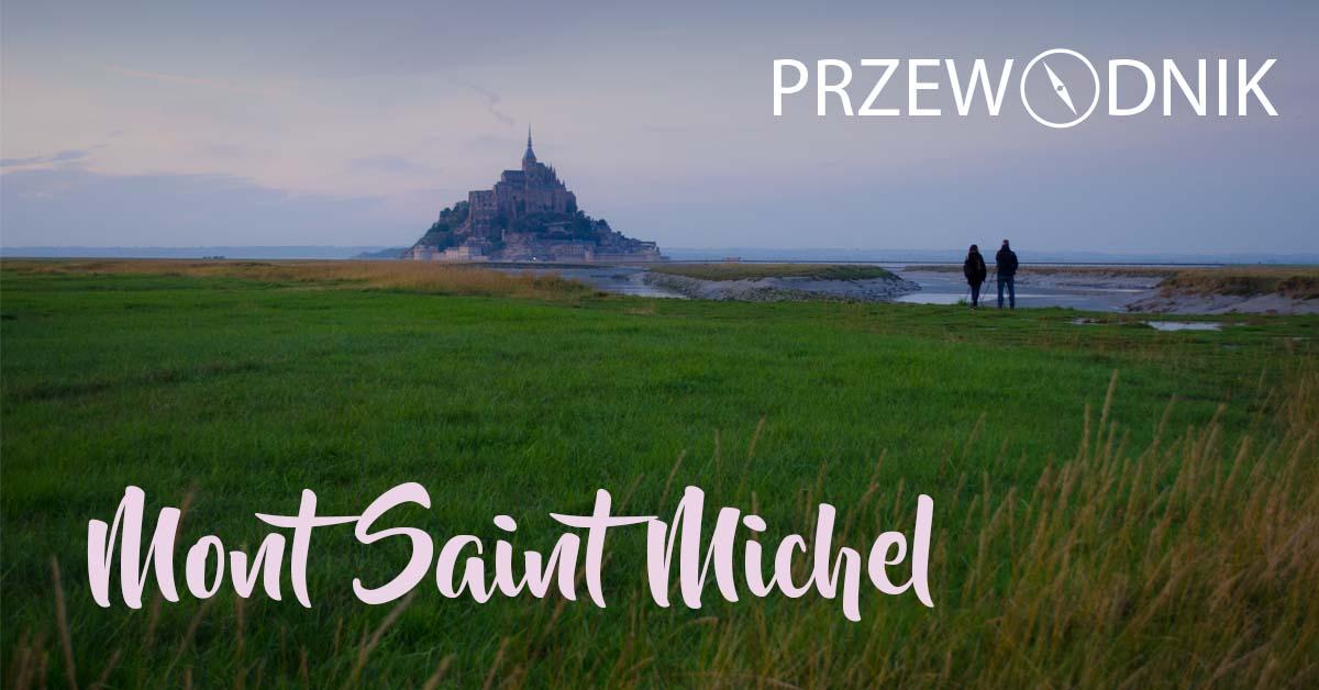 Strona tytułowa przewodnika po Mont Saint-Michel
