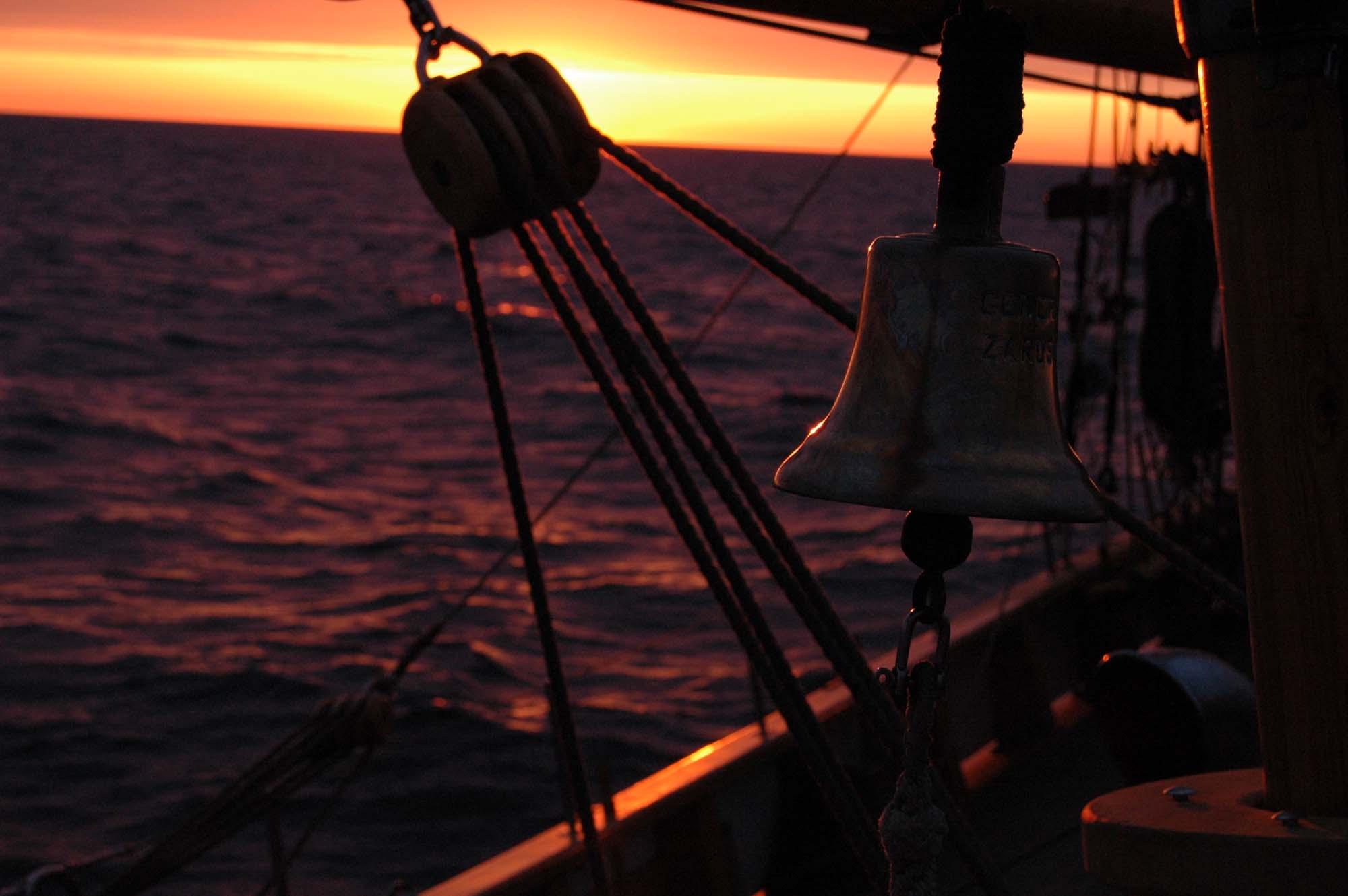 Olinowanie statku